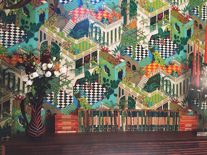 Miami wallpaper design by Cole & Son